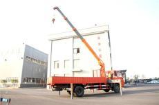 东风7吨四节节臂13米随车吊 昊天随车起重机