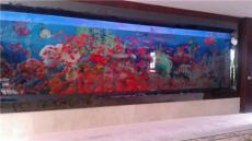 沈阳家庭观赏鱼缸 沈阳观赏鱼缸定制-恒信