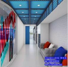 供应江西铝板网 金属网格铝板 拉网铝单板