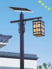 4米led太阳能庭院灯厂家直销 款式多 可定制