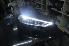 南京改灯 2017款新蒙大灯总成带LED流光转向