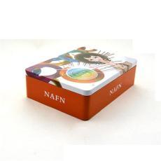 广东化妆品铁盒 立体雕刻马口铁盒 长方形铁
