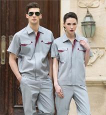 上海夏季纯棉工作服多少钱一套