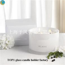 上海玻璃燭臺生產廠家 玻璃蠟燭杯定制