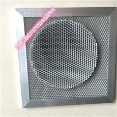 鋁基光觸媒 蜂窩活性炭組合過濾網殺菌除臭