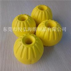 碟型飛盤 各色拉環可定制 EVA發泡球 寵物球