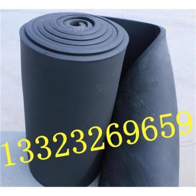 阻燃B2级橡塑保温棉黑色橡塑发泡海绵吸音棉