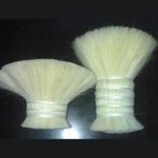 廠家生產銷售雙齊山羊毛羊毛刷原料 馬鬃尾