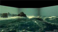 鄭州投影機融合投影機拼接投影機虛擬互動