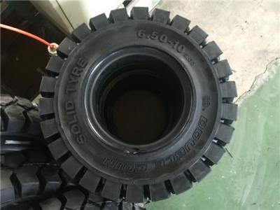 双钱Queen泰山叉车实心轮胎650-10招代理