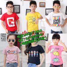 宁夏市场短袖T恤儿童装批发-3万件短袖T恤清