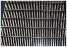 不銹鋼條縫篩網 高錳鋼絲條縫過濾篩網