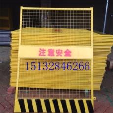 定尺直梯洞口防护栏 工地施工净口电梯门厂