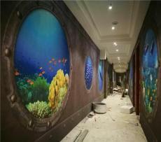 酒店KTV餐饮连锁店主题壁画背景墙壁纸定制