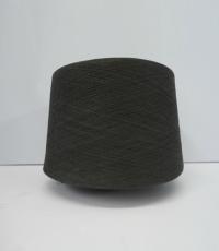 纳米有机竹炭纯纺纱线32S
