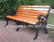 哈尔滨市松北区园林休闲椅 欧式虎头休闲椅