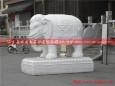石象雕刻 石雕大象 石雕象雕塑 汉白玉大象