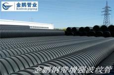 钢带增强PE管 钢带增强螺旋波纹管性能