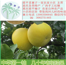 北京人最爱吃的梁平药柚 中国三大名柚