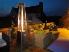 江苏四边形塔形户外燃气取暖炉庭院取暖炉