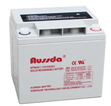 奥斯达6FM40 12V40AH 直流屏蓄电池安装