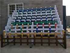 广东深圳市PVC草坪围栏/绿化带隔离护栏厂家