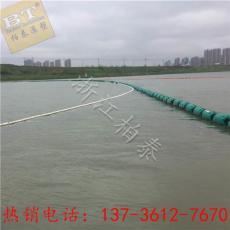 從江支流攔污專用塑料浮筒直徑30效果