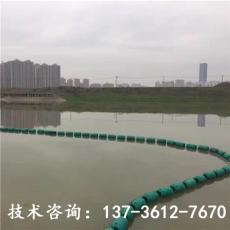 株洲水上攔污浮體配攔污柵垃圾攔截浮筒廠家