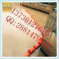 大安浮筒式攔污浮筒裝置垃圾攔截浮體