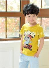 北京儿童T恤批发 换季库存童装T恤批发