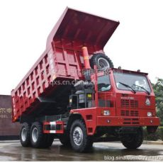 中國重汽371馬力礦山霸王自卸車