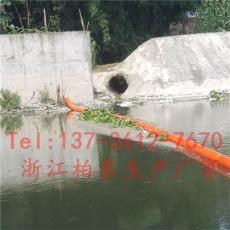 老河口河道垃圾拦截拦污漂排装置