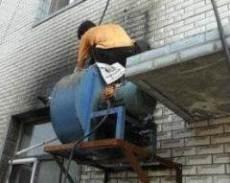 北京大興區飯店燒烤排煙風機修理安裝