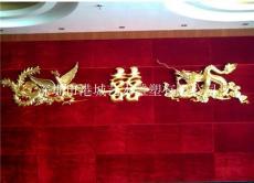 广东东莞东坑酒店大厅装饰玻璃钢龙凤雕塑