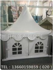 香港灣仔區尖頂帳篷