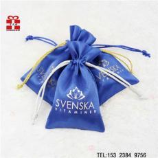 廠家專業生產禮品 飾品珠寶包裝色丁束口袋