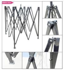 云南昆明市方形广告伞定做 广告帐篷伞