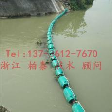 右江區水電站上游攔垃圾浮筒
