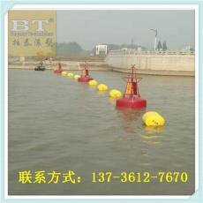 江南湖面掛網式攔污浮體拉網圓柱體浮筒