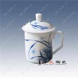 手绘山水茶杯定做 景德镇陶瓷茶杯订制厂家