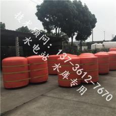 桂林核电站拦污浮筒塑料浮体规格