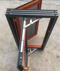 供应上海封阳台--80窗纱一体平开窗