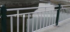 锌钢材质的河道护栏 深圳河道护栏的隔离