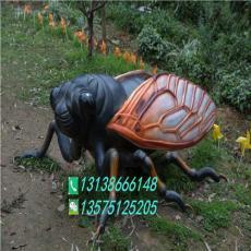 玻璃鋼蝗蟲仿真昆蟲知了模型蟬公園園林雕塑