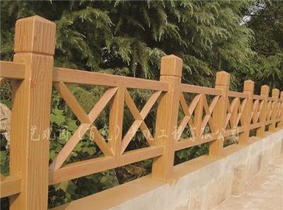 广西百色仿木护栏