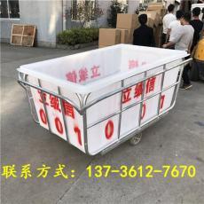 直銷杭州滾塑推布車漂染廠用布草車