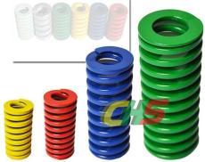 供應JIS日標矩形螺旋模具彈簧 重載荷綠色彈