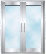 廣州304不銹鋼玻璃防火門定做4S店車庫專用