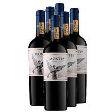 广州进口红酒智利蒙特斯经典梅洛干红葡萄酒
