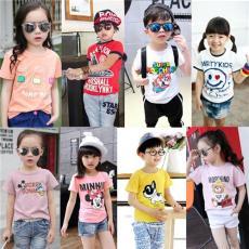 哪里有兩三歲到六七歲小孩子穿的T恤批發網